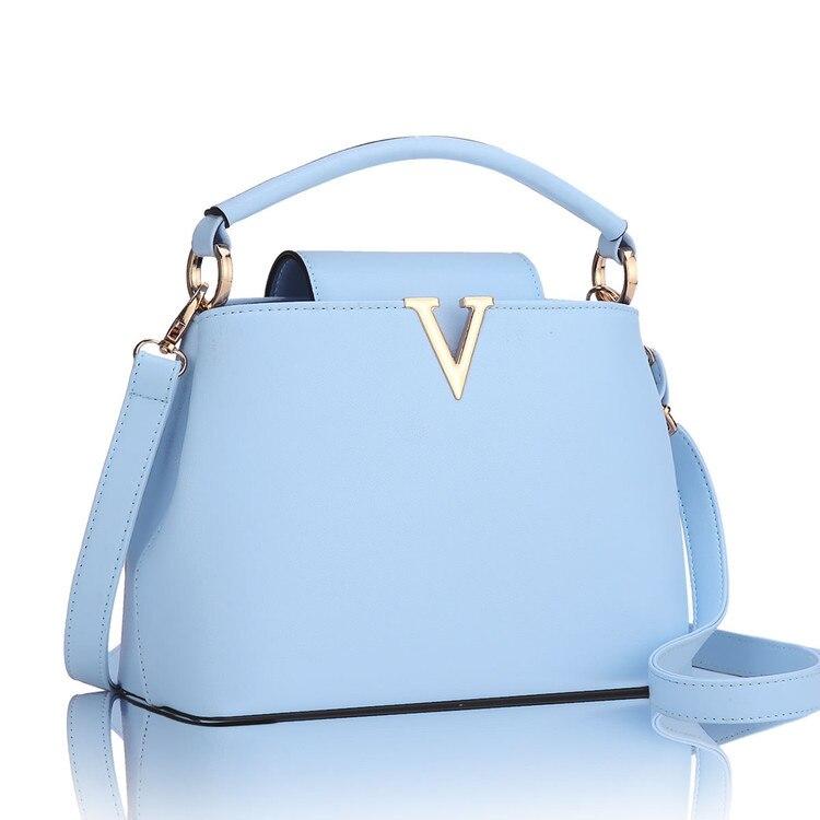 ФОТО Designer Handbags High Quality Women Bag Fashion 2017 Brand Ladies Hand Bag Pu Leather Lady Messenger Shoulder Tote SMYYG-A0063