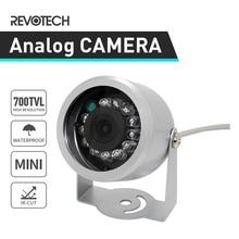 Mini 700TVL Waterproof Security Camera Sony Effio E CCD / CMOS 12LED IR Night Vision CCTV Camera Outdoor Analog Cam