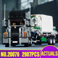 L модели Строительство Игрушка Совместимость с Lego L20076 2907 шт. большой грузовик блоки игрушки хобби для мальчиков и девочек Модель Строительс