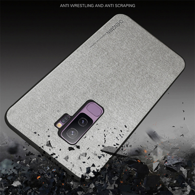 High Quality Luxury Soft TPU Silicone Phone Case For Samsung Galaxy s8 s9 Plus Case Cover For Samsung s8 s9 s10 Plus Back Cover