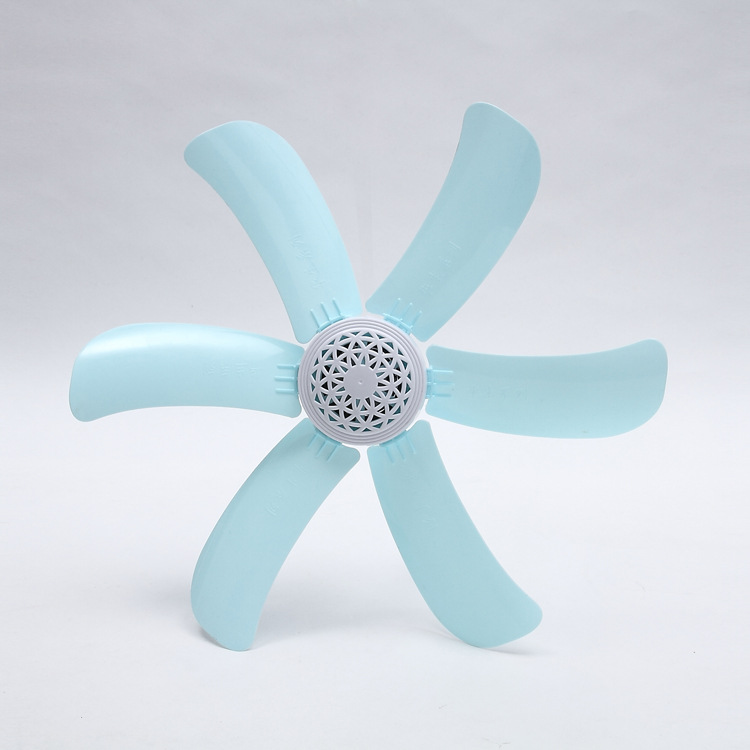 Portable Ceiling Fan 6 Blades Mini Hanging Fan Quiet Soft Wind with Switch Summer Ventilador