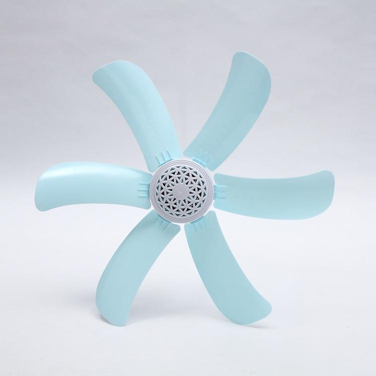 Portable Ceiling Fan 6 Blades Mini Hanging Fan Quiet Soft