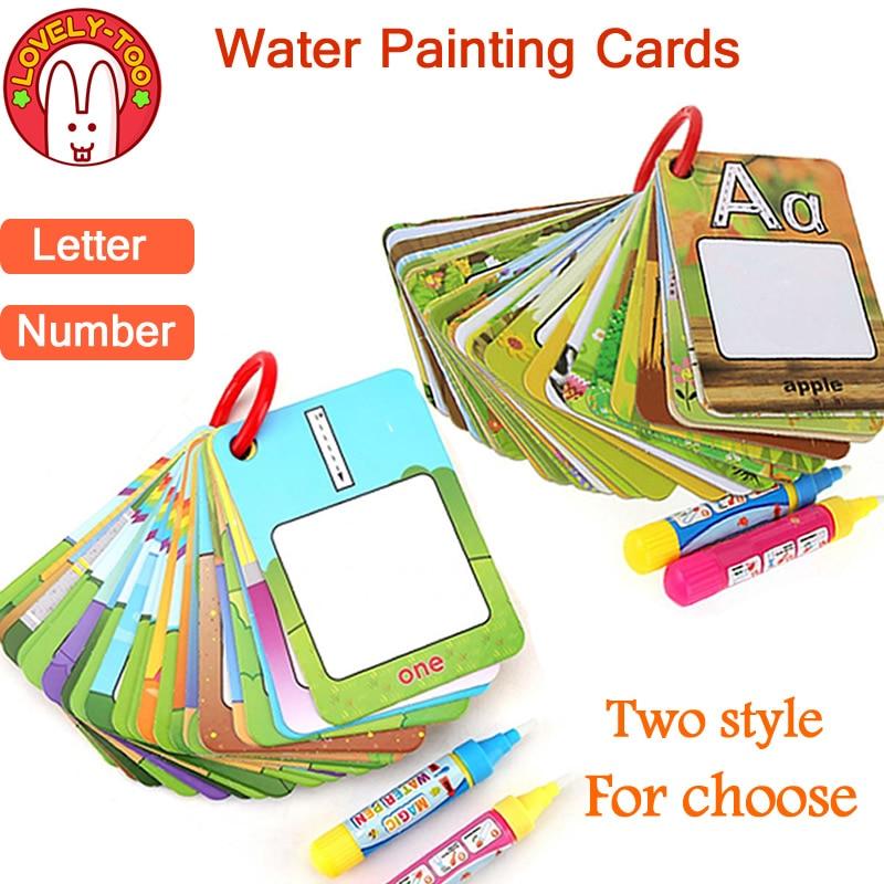 Libro De Dibujo Mágico Juguetes Para Colorear Agua Portapapeles Pintura Doodle Tablero De Creación