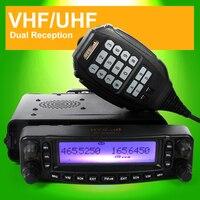 VHF/UHF Dual Band CB мобильный автомобильное радио Приём мобильного радиолюбителей трансивер Air диапазон приема с скремблер TC MAUV11