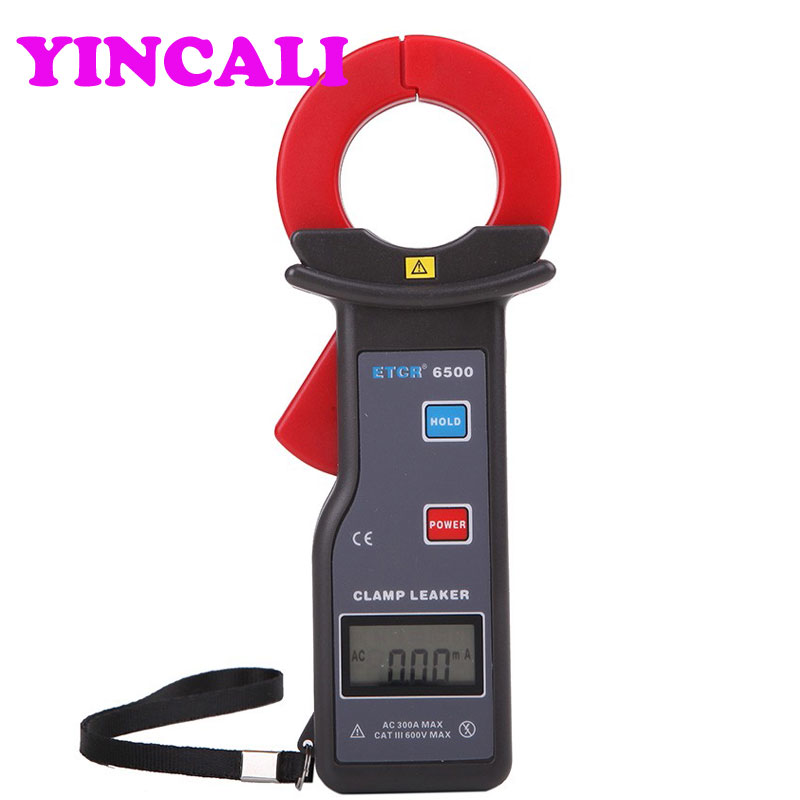 High Accuracy Clamp Leakage Current Meter ETCR6500 Digital Clamp Meter 0.00mA-300A with RS232 Interface цена