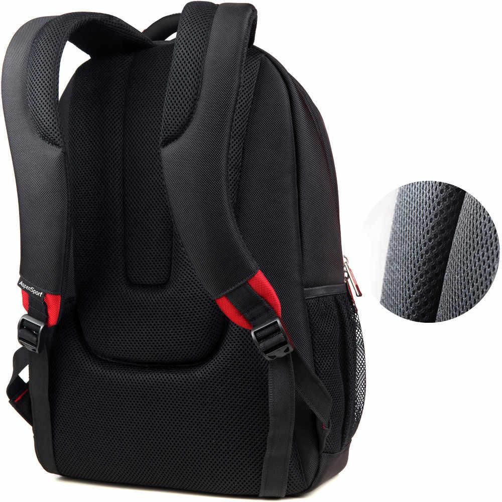 AspenSport рюкзаки для ноутбука мужские для 15-17 дюймов Компьютерные Школьные сумки для мальчиков дорожные непромокаемые противоугонные блокноты черный