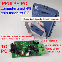 Pulse type comestero RM5 Coin acceptor NRI G-13 coin mech to PC interface for kiosk machine, vending machine,information machine
