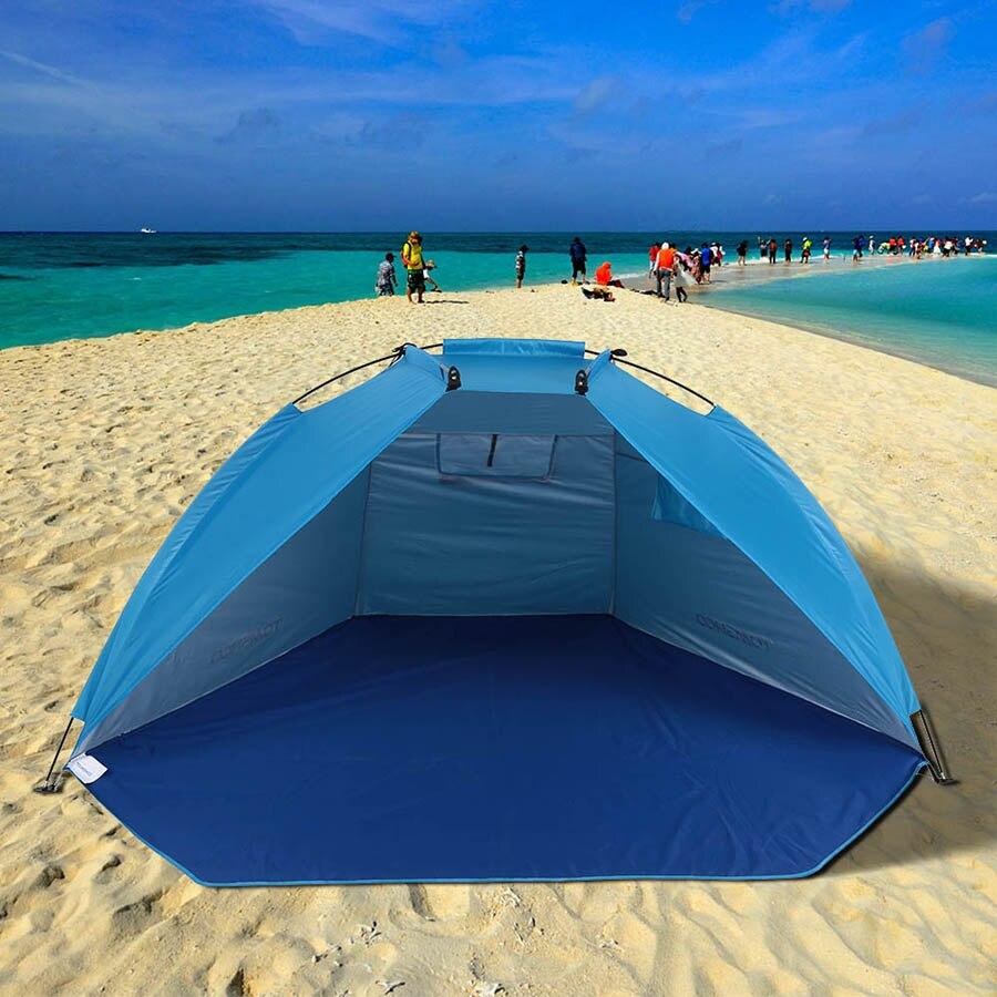 Outdoor Faltbare Strand Zelte Unterstände Sonnenschirm UV Schutz Ultraleicht Zelt Für Angeln Picknick Park Im Freien Werkzeuge