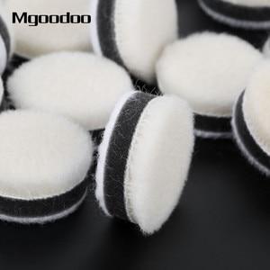 Image 4 - Disque de polissage en laine, 1 pouce, 25mm, 20 pièces, pour polissage, pour peinture de voiture, soin, pour outil rotatif Dremel, 20 pièces