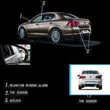 Car Blind Spot Monitoring BSD BSA BSM Radar Detection System Microwave Sensor Assistant Driving Security