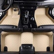 Personalizado esteras del piso del coche para Todos Los Modelos de KIA K2/3/4/5 Kia Maxima Cerato Sportage Optima carnaval rio ceed car styling pie estera