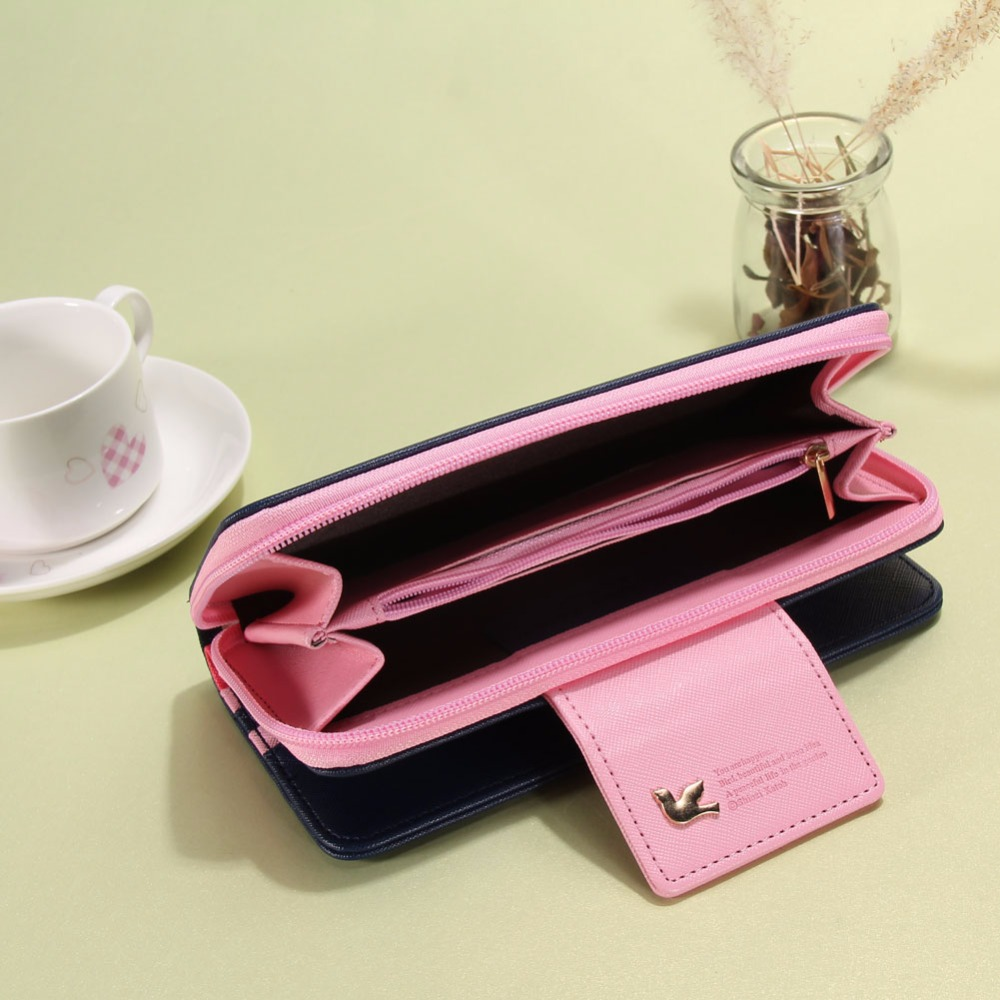 moda para mulheres carteiras marca Card Holder Phone Pocket : Women Coin Purses