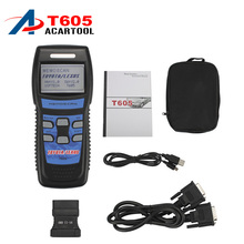 Top Selling High quality New Memoscan T605 for TOYOTA/LEXUS Professional Tool T605 OBD2 Code Scanner DHL FREE Shipping