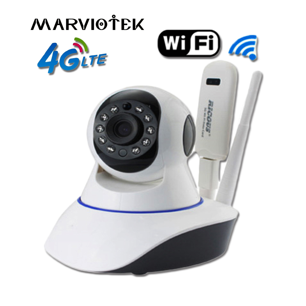 Infrared IP Camera Wi-fi CCTV Camera Wireless Audio Record Surveillance HD Mini Camera Home Security 4G With Sim Card Slot h.264 h 264 home security hd ip cctv mini
