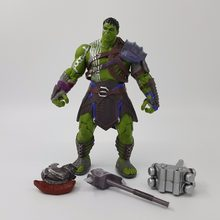 3 Ragnarok Figura de Ação Hulk Avengers Incredible Hulk Ironman Robert Bruce Banner PVC Figure Toy Collectible(China)