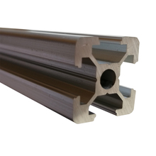 Linear Guide 2020 Hole 5mm T-Slot Aluminum Profile Extrusion Frame CNC 100/150/200/250/300/350/400/450/500/550/600mm 1pc durable 2040 t slot aluminum profiles extrusion frame 500mm length for professional printer cnc plasma lasers mayitr