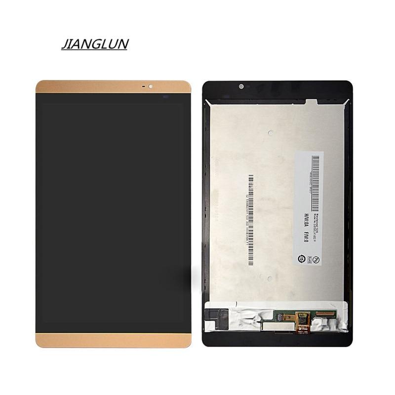 M2-801W JIANGLUN Para Huawei MediaPad/L Tela LCD + Digitador Da Tela de Toque