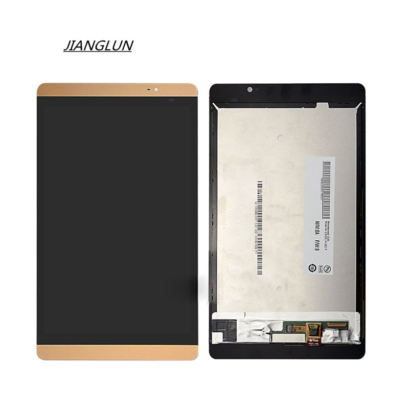 JIANGLUN For Huawei MediaPad M2-801W / L LCD Screen + Touch Screen Digitizer white lcd display touch screen digitizer assembly for huawei mediapad m3 lite 8 0 td lte cpn l09 cpn w09c