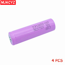 4Pcs 3.7V 2600mAh 18650 Battery MICKTICK lithium Li Ion Rechargeable Large Capacity Batteries battaria T6 Flashlight red LED