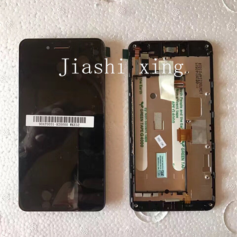 5.0 A86 LCD Display+Touch Screen Panel With Frame Digitizer Accessories For ASUS Padfone Infinity A80 Black Free Shipping