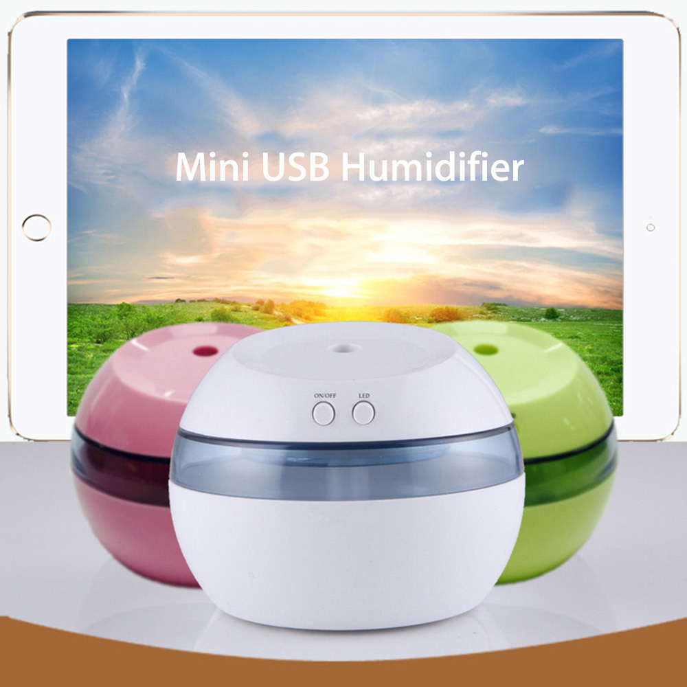 Mini Ultrasonic Humidifier USB Car Air Humidifier for Home Office Car Aroma Cool Mist Humidifier Sound-off Portable Aromatherapy home car dual use mini usb vehicle aromatherapy humidifier ultrasonic air water supply instrument atomizer