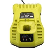 12V-18V Battery Charger P117 P118 For Ryobi Nicd Nimh Lithium Battery P100 P101 P102 P103 P105 P107 P108 P200 1400670 Power To