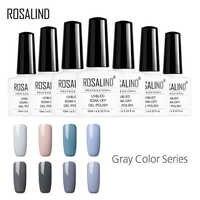 ROSALIND Gel 1 S 10 ML couleur série vernis à ongles Semi Permanent UV LED vernis à ongles vernis à ongles