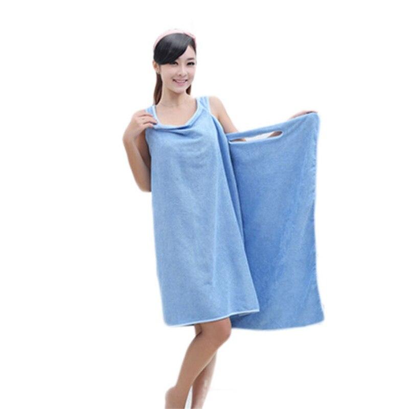 New soft microfiber plush fabric magic absorbent dry for Bathroom dress