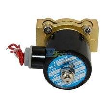 Высокое качество электромагнитный клапан дняо 3/4 » AC220V прямого воздушного 1000wog нормально закрытый пневматический электрический