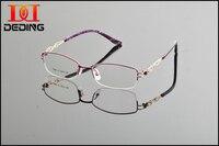 Marca óculos de armação armações de óculos óculos óculos DD0867 Semi