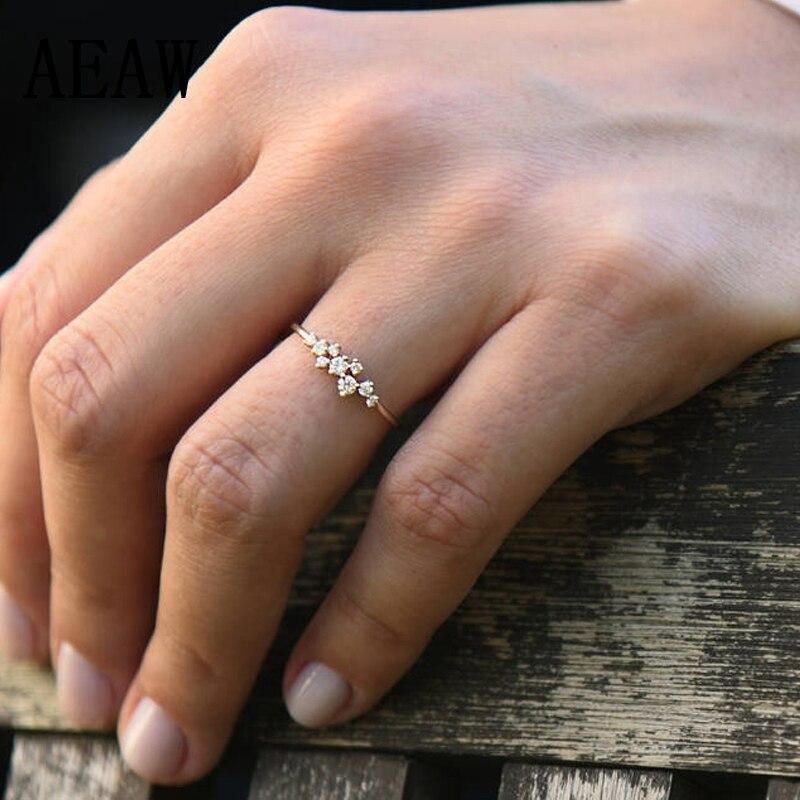 anel de dedo para as mulheres moda casamento presente anéis