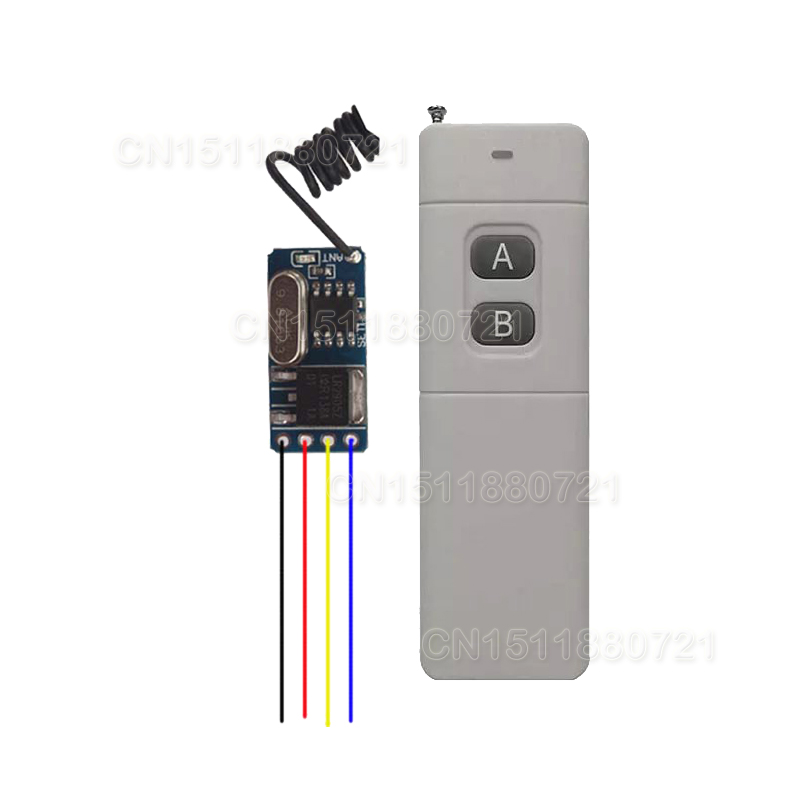 Mini RF RC Remote Control Switch 3V 3.6V 3.7V 4.5V 5V 6V 7.4V 9V12V Modern Lighting Wireless Micro Switch for RC Toy Helicopter cltgxdd aj 131 micro switch 3 5 3 1 8 for citroen c1 c2 c3 c4 c5 c6 c8 remote key fob repair switch micro button