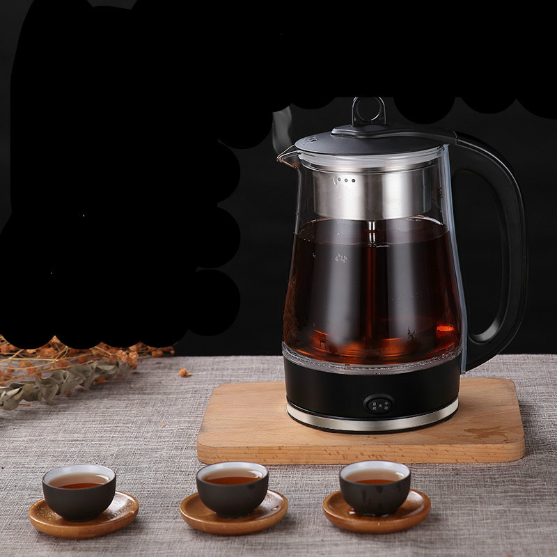 Electric kettle Black tea brewed ware glass electric full automatic heat preservation pot steam set yixing tea wholesale tank antique tea tea pot barrel unique full mixed batch