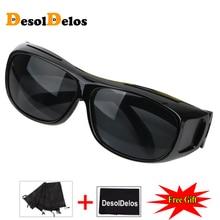 Night Vision Driver Goggles Unisex HD Vision Sun Glasses Car Driving Glasses UV Protection Polarized Sunglasses Eyewear G122 цена в Москве и Питере