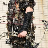 MagiDeal Outdoor Comfortable Archery Bow Hand Protection Glove Arm Safety Guard Gear for Outdoor Hunting Archery Accessoreis