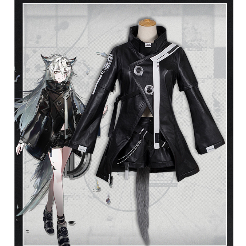 Game Arknights Cosplay Costumes Lappland Cosplay Costume Halloween Carnival Party Women Cosplay Costume Customized