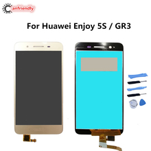For Huawei Enjoy 5S / GR3 TAG AL00 CL00 L23 TL00 L01 L03 L13 L21 L22 L23 LCD Display+Touch Screen Digitizer with frame Assembly