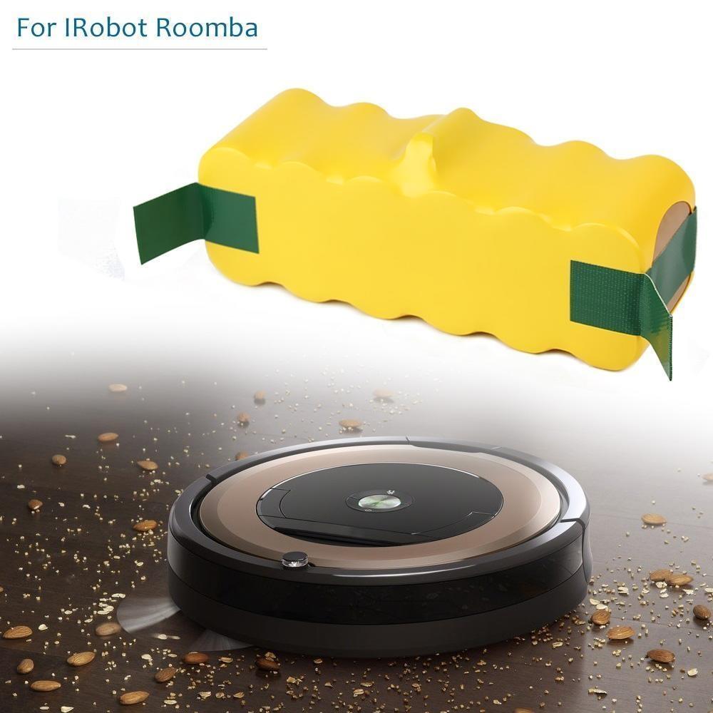 8000mAh High Capacity 14.4V Battery For iRobot Roomba Sweeping Robot Vacuum Cleaner 500 540 550 620 600 650 700 780 790 870 9008000mAh High Capacity 14.4V Battery For iRobot Roomba Sweeping Robot Vacuum Cleaner 500 540 550 620 600 650 700 780 790 870 900