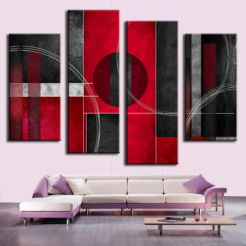 online kaufen gro handel leinwand kreis aus china leinwand kreis gro h ndler. Black Bedroom Furniture Sets. Home Design Ideas