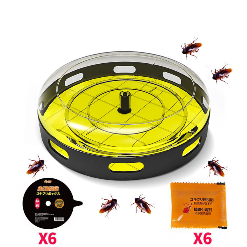 2018 New Cockroach Trap Upgrade Safe Efficient Anti Cockroaches Killer Reusable Repeller No Pollute For Home Office Kitchen