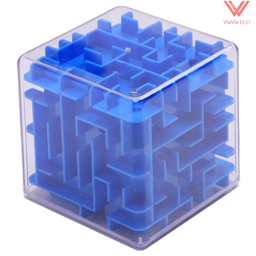 OMO Magic Cube Maze Labyrinth Game Rolling Ball Balance Brain Teaser Toy