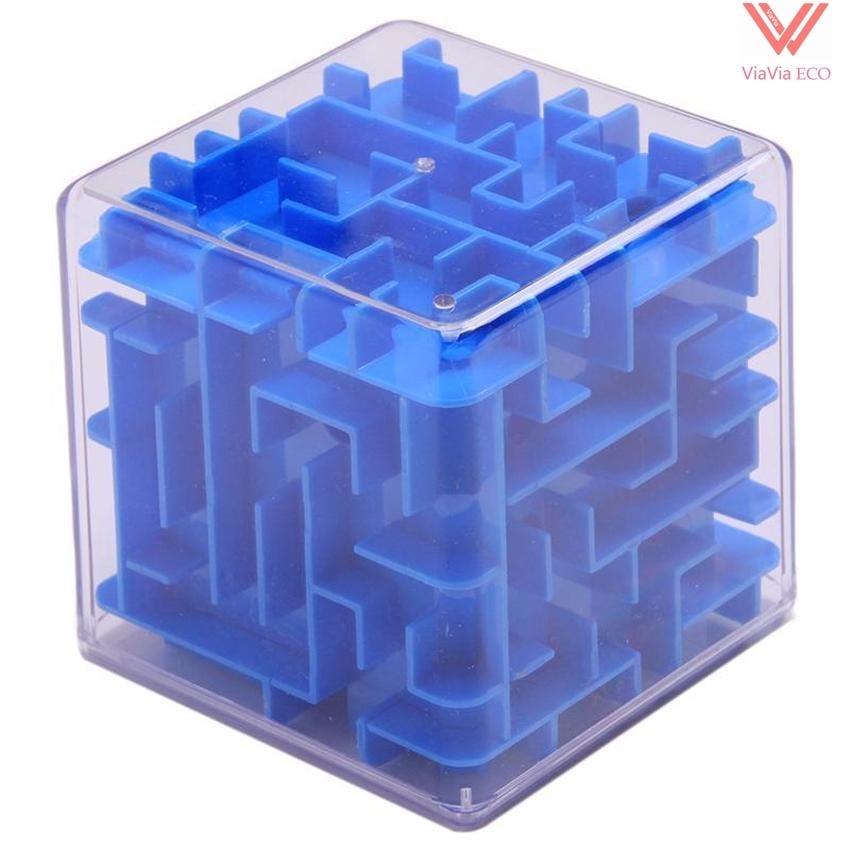 OMO Magic Cube Maze Labyrinth Game Rolling Ball Balance Brain Teaser Toy