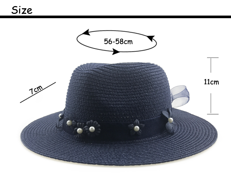 Women Summer sun hat unisex Panama hat 2018 new arrival fashion straw beach cap