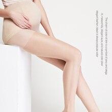 693ce04d37 Meia-calça Mulheres Collants Preto Ajustável de Alta Elástica Meias Lotação  Meia-calça de
