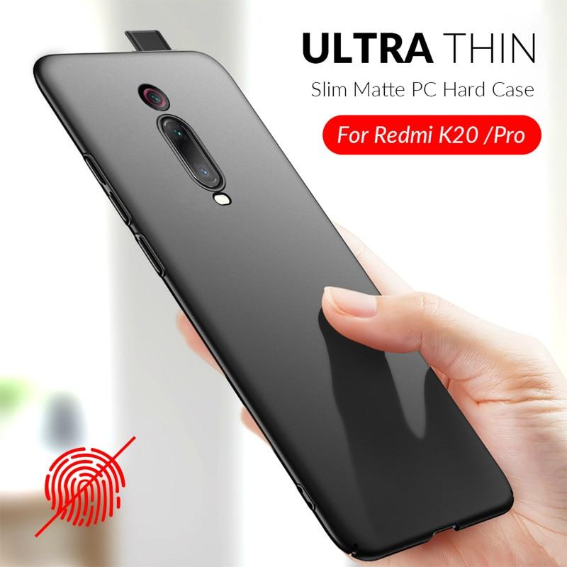 Full Body Cover Phone Case For XiaoMi RedMi K20 K20Pro Mi9T Pro Ultra Thin Slim Matte Hard PC Back Case for Xiaomi RedMi Note 8T(China)