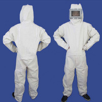 Sandblasting suit protective clothing, one piece hood, paint sanding coat, full body protection, labor insurance safety clothing