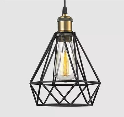 цена IWHD RH Edison Vintage Lamp Industrial Pendant Lighting Fixtures With Lampshade In Loft Style Lamparas Colgantes