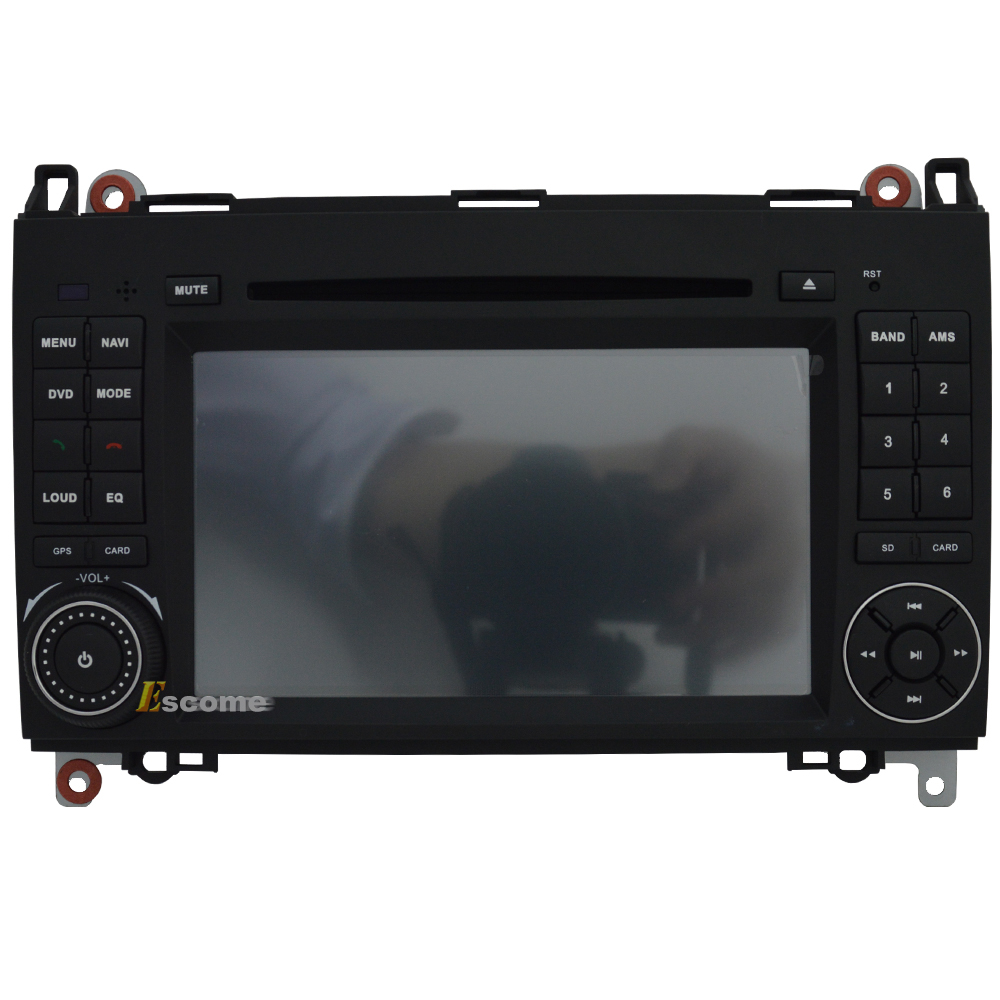 Car DVD GPS For Mercedes Benz B200 B150 B170 A180 A160 Vito W639 Viano Pure Android 5.1 GPS WiFi 3G OBD DVR
