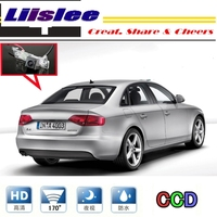 Car Camera For Audi A4 A4L S4 Liislee RS4 B8 2009~2014 rearview Rear View Back Up Camera For PAL / NTSC to Use CCD With RCA