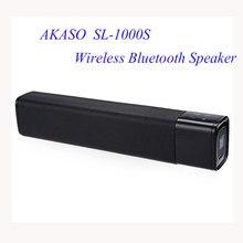 AKASO SL-1000S NFC Sans Fil Bluetooth Haut-Parleur Super Bass Stéréo Haut-Parleur de Soutien TF Carte Contrôle Du Volume